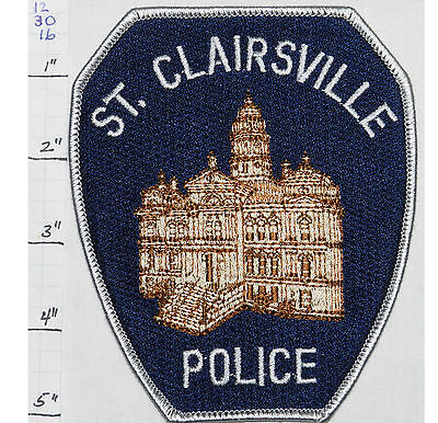Ohio, St. Clairsville Police Dept Patch