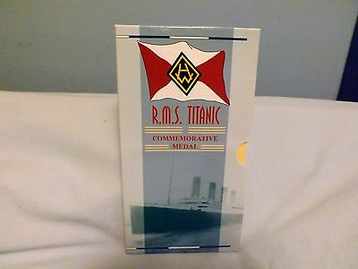 Royal Mint 1997 R.M.S. Titanic Commemorative Medal by Harland and Wolff