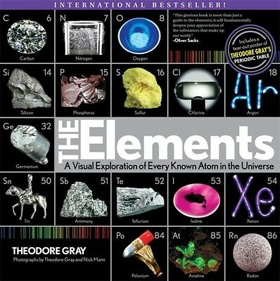 The Elements: A Visual Exploration of Every Known Atom in the Universe (Paperba.