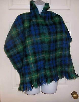 Vintage Mohair Wool Scarf/shawl Fab Colours