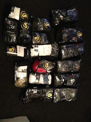 Boxing Mma Gloves Leather Pads New Job Lot X 17 Wholesale Clearance Sale