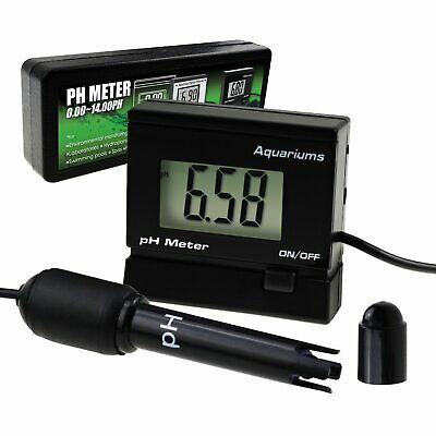 Digital pH Monitor Meter ATC 0~14.00pH Replaceable Electrode Probe Water Quality