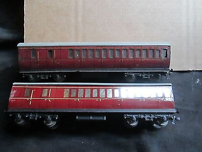 2 X Hornby Dublo Carriages (Oo Gauge) Lot C