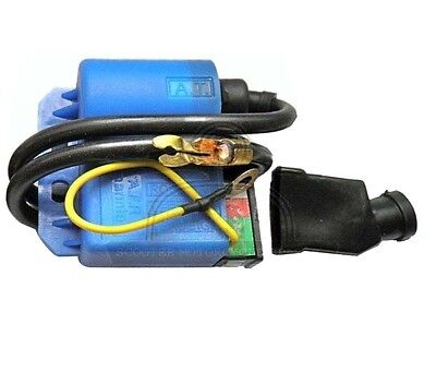 2V Cdi For Electronic Ignition With Terminal Cover Vespa Lambretta @cad
