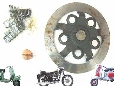 Lambretta Clutch Flange & Button 4 Plate Set Up Gp Scooters @cad