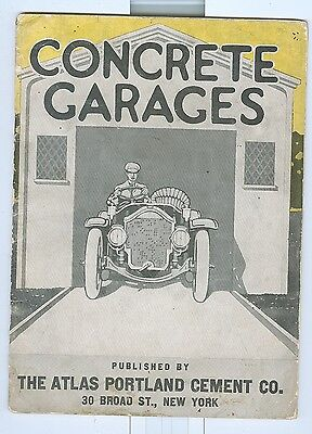 Early 1900 Portland Cement Company Concrete Garages