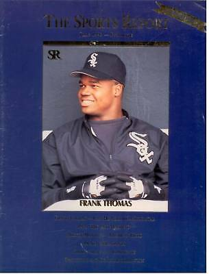 Frank Thomas Investor's Journal-The Sports Report June 1992 Prototype