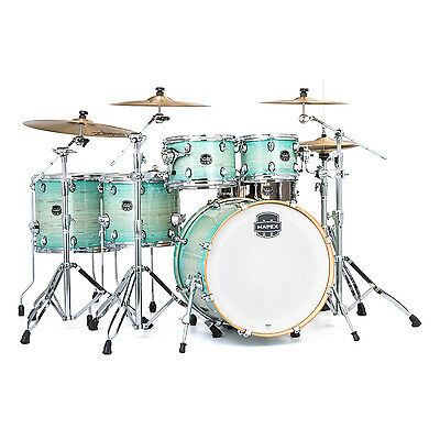 Mapex AR628S-UM Armory Rock Fusion Drum Kit Shell Pack, Ultra Marine
