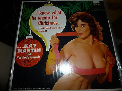 Kay Martin  I Know What He Wants For Christmas - Cheesecake Vinyl Lp Rare 28/43