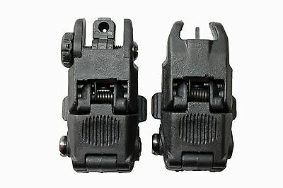 Klappbare Visiere black Foldable Sights 22mm Weaver Picantiny PaintNoMore 13200