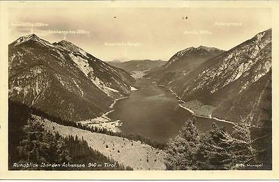 Achen Lake, Panoramic View - Unposted Postcard