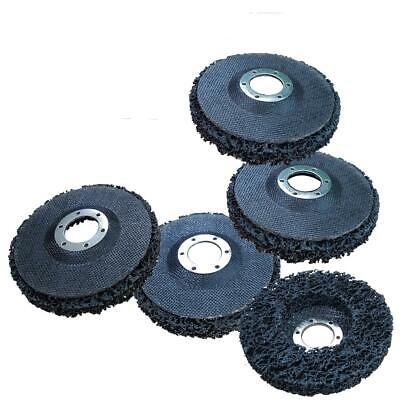 """5 x VOCHE® PAINT & RUST REMOVER GRINDING WHEEL DISC 115mm (4 1/2"""") ANGLE GRINDER"""