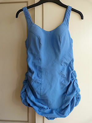1950's Vintage SEARS SEA STARS Blue PIN-UP  Swimsuit  Size 16/38