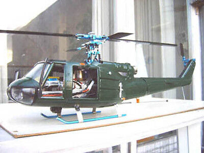 BELL UH-1C (HUEY) fuselage for 400/450 size helicopter