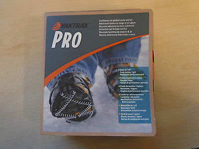 Unisex Yaktrax Pro Anti Slip Outdoor Winter Ice Grips Coils Crampons Size Large