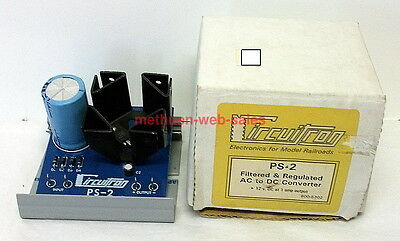 Circuitron~800-5302~PS-2~Filtered & Regulated AC to DC Convertor~
