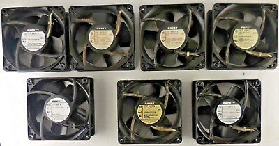 Quantity of 7 Papst Fans 4600X 115V 20W NOT WORKING #6rr