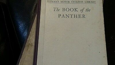 Pitmans book of the panther vintsge motorcycle lightweight post 1932