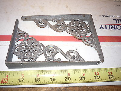 4 Fancy  Detail  Cast Iron Wall  Shelf Hanger & Window Bracket Brackets