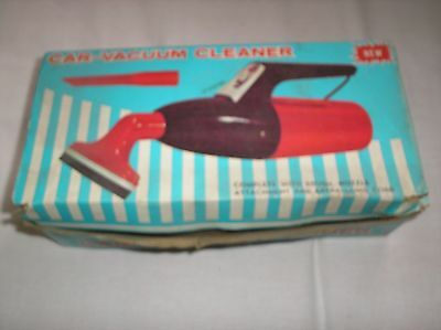 Original Hand Held Car Vacuum In Box With Attachments