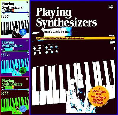 SYNTHESIZER PLAYING GUIDE Book ELECTRONIC SOUNDS TECHNIK PROGRAMMING NOTEN MIDI