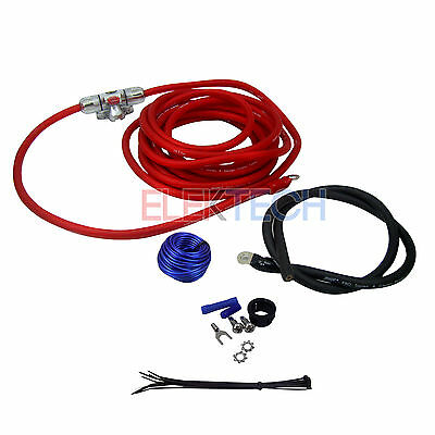 Stinger SK4241 Single Power Amplifier Install Wire Kit 4 Gauge 1500 W 150 Amp