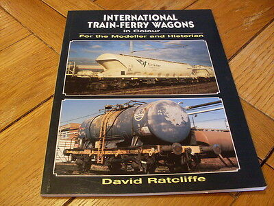 International Train Ferry Wagons in Colour by David Ratcliffe