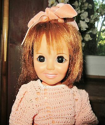 1973  Ideal Crissy Family Doll Works! Mod  Red Head Hair