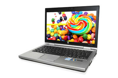HP Elitebook 2570p Core i7 3.Gen 2,9GHz 8GB 180GB SSD DVD-RW Windows10 Webcam