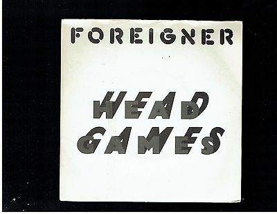Foreigner Head Games Ps 45 1979