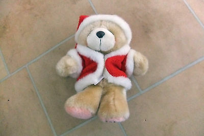 SALE! Cute Forever Friends Teddy Bear Christmas Soft Toy with Santa Outfit