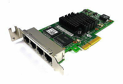 DELL 9YD6K QUAD PORT 1 GBs NIC PCIe LOW PROFILE