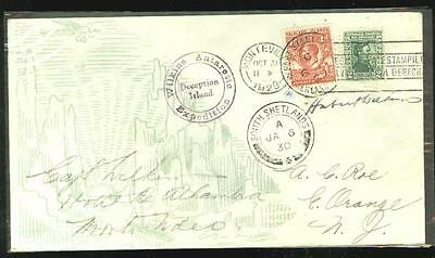 Wilkins Antarctic Expedition 1929, autographed flown cover AAMC TO-1097, scarce
