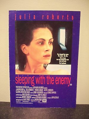 SLEEPING WITH THE ENEMY pressbook campaign book RARE julia roberts