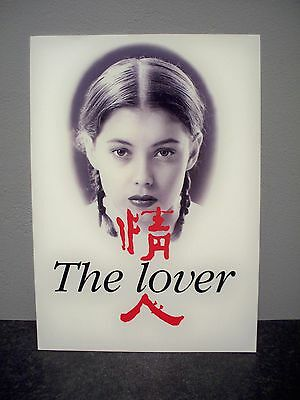 THE LOVER (1992) pressbook campaign sheet RARE erotic jane march