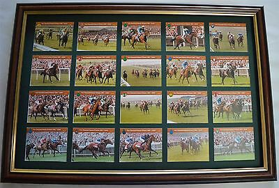 2000 Guineas Winners Cards Set 1981-2000 Mounted And Framed