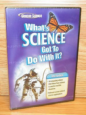 Glencoe Science: What's Science Got To Do With It? (3-Disc DVD Set) Wins/Mac NEW