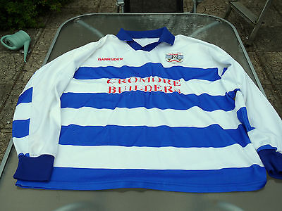 Coleraine Home Players Matchworn Shirt Large Mens Number 9
