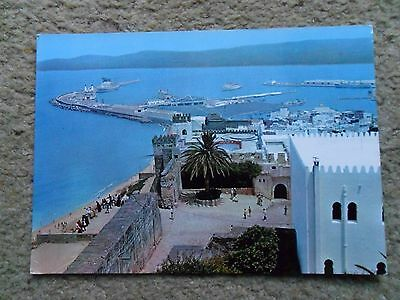 Postcard. Tanger. View Of Port.