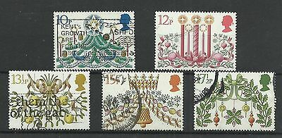 GB 1980  Christmas   fine used set