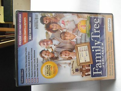 Family tree heritage cd rom