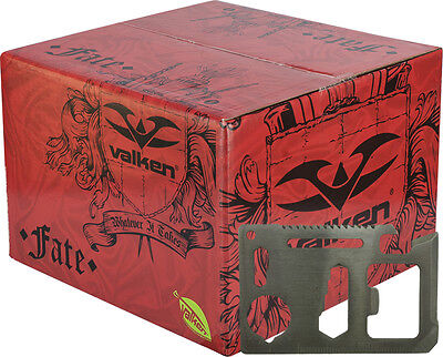 Valken Fate 2.000 Paintballs Cal. 68 Airsoft Paintball PaintNoMore inkl. Tool