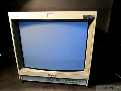 SONY PVM-20L2MD TRINITRON MEDICAL COLOR VIDEO MONITOR w/ 129X Analog input Card
