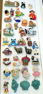 36 x ASSORTED FRIDGE MAGNETS.. . FROM  STOCK.. ALL UN-USED VERY GOOD CONDITION