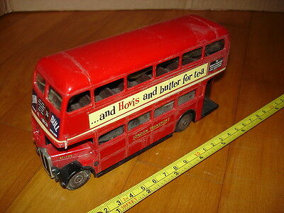 A E C Double Decker RT London Bus. Diecast model made by Solido c. 1980s/90s?