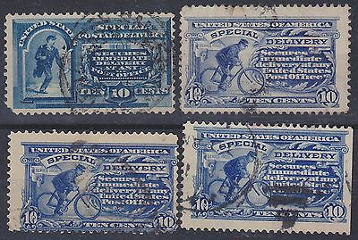 248) Usa - U.s.a 1895 / 1916 - Special Delivery - Used Selection -
