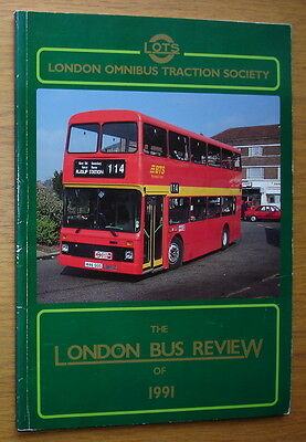 The London Bus Review Of 1991. London Omnibus Traction Society. 100 pages