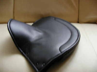 new LARGE LYCETTE SOLO seat saddle COVER Lycett seatcover classic motorcycles