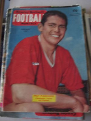 Charles Buchan's Football Monthly February 1959