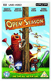 Open Season [UMD Mini for PSP], Good Condition DVD, , Anthony Stacchi, Jill Cult